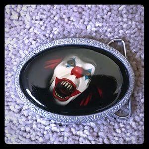 Other - IT clown belt buckle